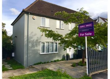 Thumbnail 3 bed semi-detached house for sale in Crescent Way, North Finchley