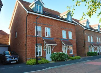 Thumbnail 3 bed semi-detached house for sale in Adams Road, Picket Piece, Andover