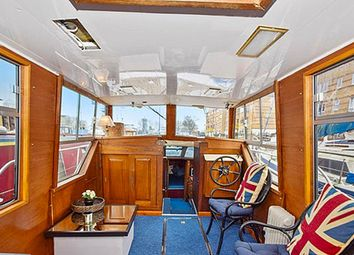 Thumbnail 1 bed houseboat for sale in Rope Street, London