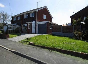 Thumbnail 3 bed semi-detached house for sale in Arley Drive, Shaw, Oldham