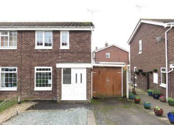 Thumbnail 2 bed semi-detached house for sale in Brookhouse Way, Gnosall, Stafford