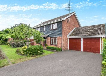 Thumbnail 4 bed detached house for sale in Gernon Close, Broomfield, Chelmsford