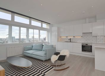 Thumbnail 3 bed flat to rent in North Block, Metro Central Heights, Elephant And Castle, London