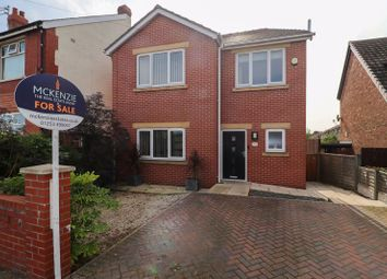 Thumbnail 3 bed detached house for sale in Vicarage Lane, Blackpool