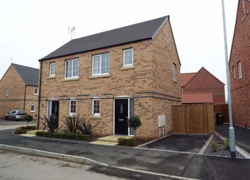 Thumbnail 1 bed semi-detached house for sale in King Fisher Way, Ollerton, Nottinghamshire