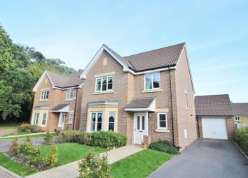 Thumbnail 4 bedroom detached house for sale in Burney Place, Sarisbury Green, Southampton