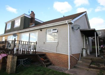 Thumbnail 2 bed semi-detached bungalow for sale in Pentland Close, Risca, Newport
