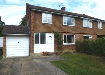 Thumbnail 4 bed semi-detached house for sale in Longmeadow, Bookham, Leatherhead
