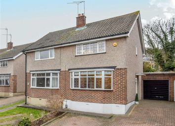 Thumbnail 3 bed semi-detached house for sale in Clarks Close, Ware, Hertfordshire