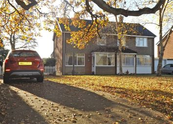 Thumbnail 3 bed semi-detached house for sale in Farm Close, Lyne, Chertsey, Surrey
