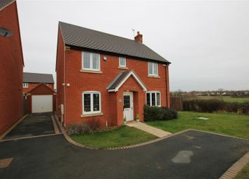 Thumbnail 4 bed detached house for sale in Wilson Way, Burton-On-Trent