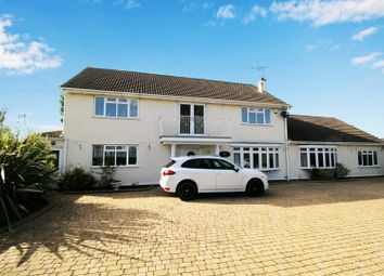 Thumbnail 5 bed detached house for sale in Cosby Road, Broughton Astley, Leicester, Leicestershire