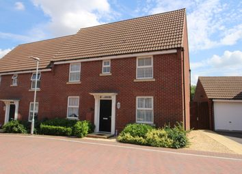 Thumbnail 3 bed semi-detached house for sale in Turntable Place, Westbury