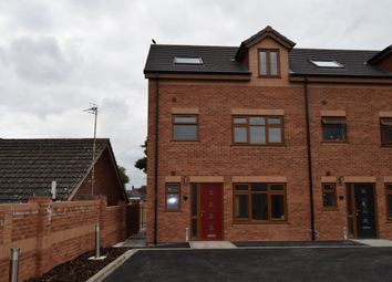 Thumbnail 4 bed town house to rent in Tilia Close, Off Nursery Road, Leicester