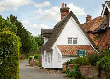 Thumbnail 2 bed cottage for sale in Church Lane, Homersfield, Harleston