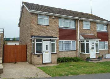 Thumbnail 3 bed semi-detached house to rent in Court Crescent, Swanley