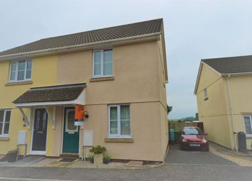 Thumbnail 2 bedroom semi-detached house for sale in Westcots Drive, Winkleigh