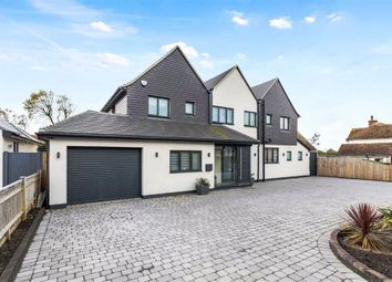Thumbnail 6 bed detached house for sale in Hartfield Road, Seaford, East Sussex