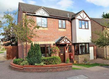 Thumbnail 4 bedroom detached house for sale in Spruce Crescent, Poringland, Norwich