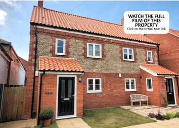 Thumbnail 3 bedroom semi-detached house for sale in Morston Road, Blakeney, Holt