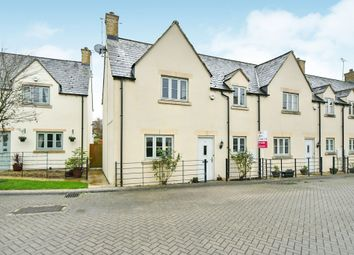 Thumbnail 3 bed end terrace house for sale in Winchcombe Gardens, South Cerney, Cirencester