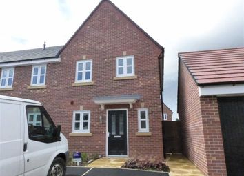 Thumbnail 3 bed mews house for sale in Britten Crescent, Moulton, Northwich, Cheshire