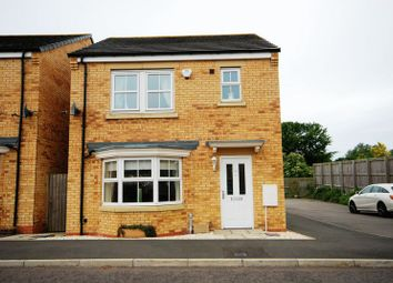 Thumbnail 3 bed detached house for sale in Beaumont Court, Pegswood, Morpeth