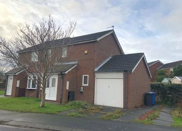 Thumbnail 2 bed semi-detached house to rent in Castle Way, Pegswood, Northumberland
