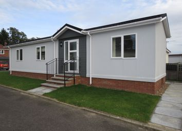 Thumbnail 2 bedroom mobile/park home for sale in Newton Park, Newton St. Faith, Norwich