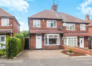 Thumbnail 3 bed semi-detached house for sale in The Knoll, Mansfield