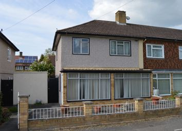 Thumbnail 3 bedroom end terrace house to rent in Newbury Close, Romford