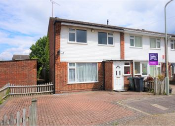 Thumbnail 3 bed end terrace house for sale in Underwood Close, Ashford