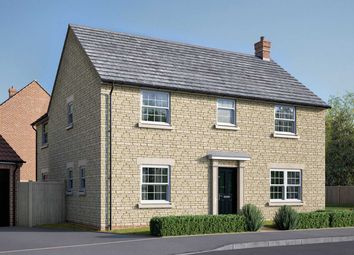 "Thumbnail 4 bedroom detached house for sale in ""The Kempthorne"" at Uffington Road, Barnack, Stamford"