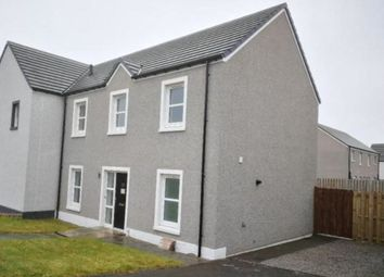 Thumbnail 4 bedroom semi-detached house for sale in Stewart Crescent, Peterhead