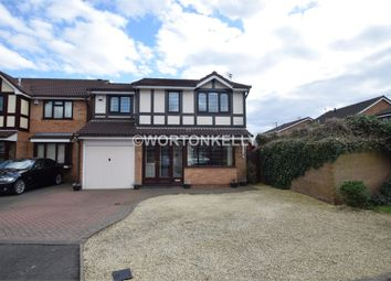 Thumbnail 4 bedroom detached house for sale in Betony Close, Walsall, West Midlands