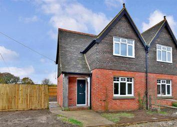 Thumbnail 3 bed semi-detached house for sale in Priory Road, Bilsington, Ashford, Kent