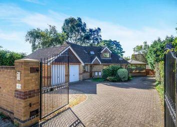 Thumbnail 4 bedroom detached house for sale in Hamble Lane, Bursledon, Southampton