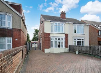 Thumbnail 3 bed semi-detached house for sale in West Street, Portchester, Fareham