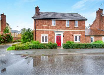 Thumbnail 3 bedroom detached house for sale in Rowditch Furlong, Redhouse Park, Milton Keynes