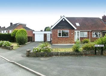 Thumbnail 4 bed semi-detached bungalow for sale in Ann Road, Wythall, Birmingham