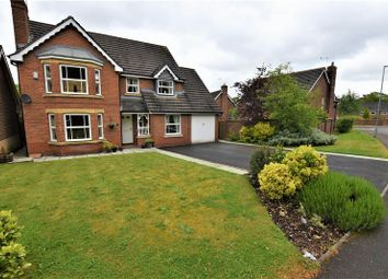 Thumbnail 4 bed detached house for sale in Obelisk Way, Congleton, 4 Reception Rooms