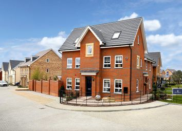 "Thumbnail 4 bed detached house for sale in ""Hexham"" at Carters Lane, Kiln Farm, Milton Keynes"