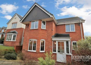 Thumbnail 4 bed detached house for sale in Speakers Close, Tividale, Oldbury