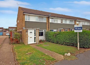 Thumbnail 3 bedroom end terrace house for sale in Slattenham Close, Aylesbury, Buckinghamshire
