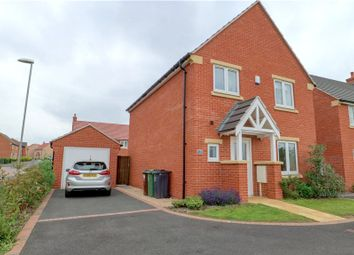 Thumbnail 3 bed detached house for sale in Caincross Close, Loughborough, Leicestershire