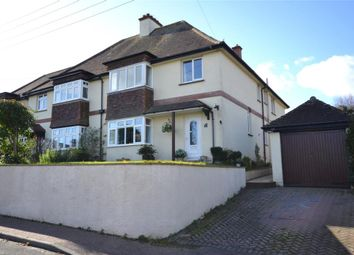 Thumbnail 4 bed semi-detached house for sale in Swains Road, Budleigh Salterton, Devon