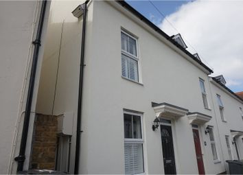 Thumbnail 3 bed terraced house to rent in Gladstone Road, Maidstone
