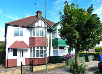Thumbnail 3 bedroom semi-detached house to rent in Gainsborough Gardens, Golders Green, London