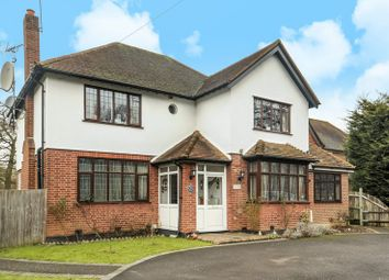 Thumbnail 4 bedroom detached house for sale in Oxshott Road, Leatherhead