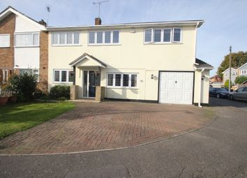 Thumbnail 4 bed semi-detached house for sale in Rosslyn Close, Hockley